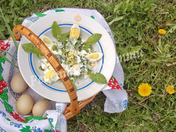 смачний та корисний салатик