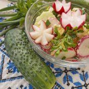 рецепт весняного салату