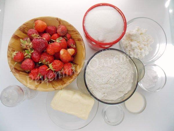 інгредієнти для пиріжків