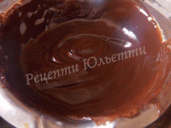 шоколадна глазур для торта