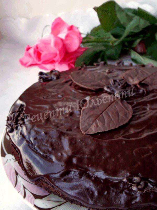 домашній шоколадний торт