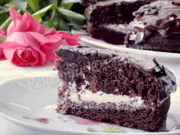 шоколадний торт простий рецепт