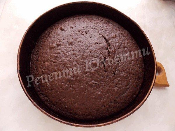 випікаємо шоколадний корж