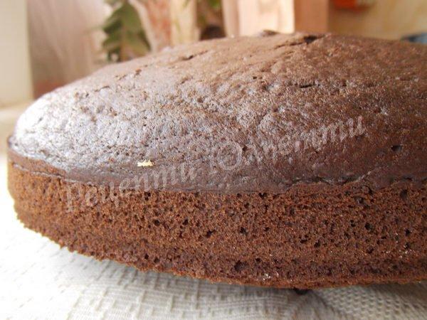 шоколадний торт на кип'ятку