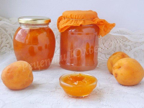 варення з абрикосів рецепт