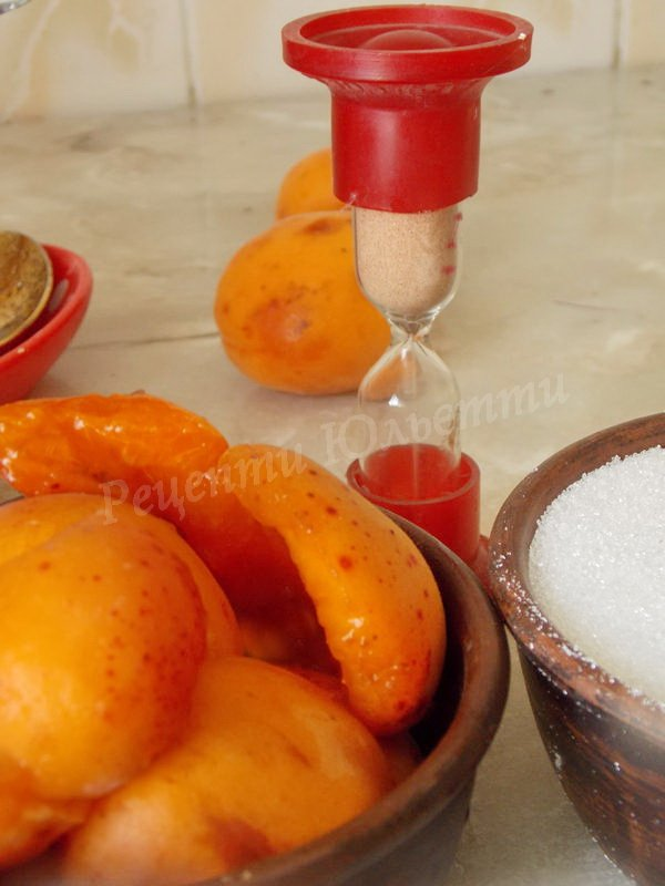 абрикосове варення 5 хвилин
