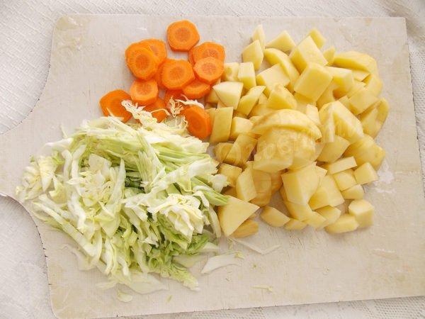 підготуємо овочі