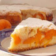 рецепт пирога з абрикосами