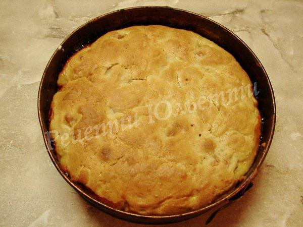 випікаємо пиріг з абрикосами