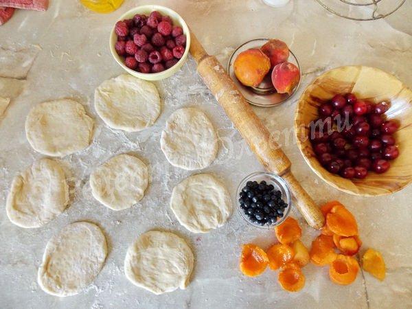 як зробити пиріжки на кефірі