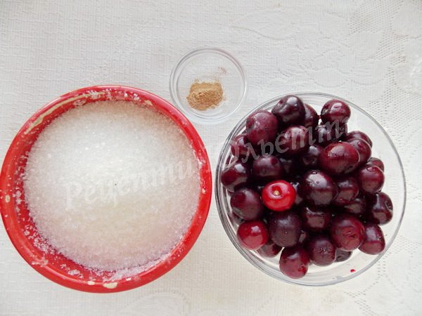інгредієнти для варення