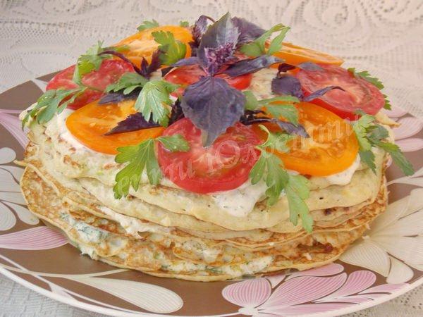 закусочний кабачковий торт