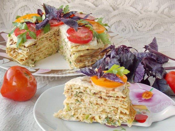 торт з кабачків