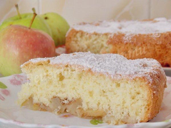 рецепт пирога з яблуками та корицею