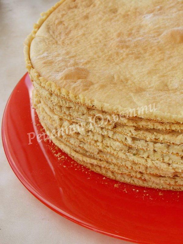 рецепт медових коржів