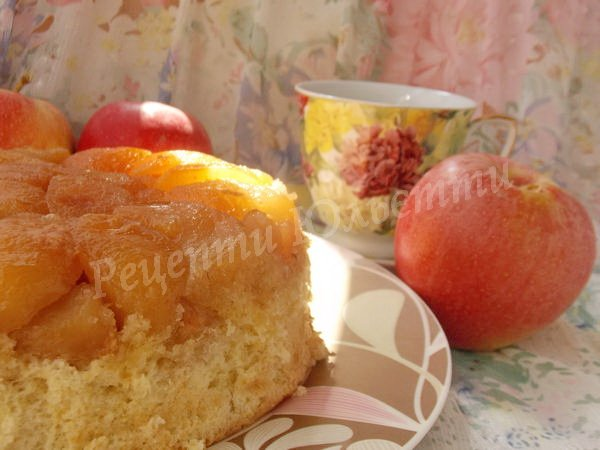 смачний яблучний пиріг