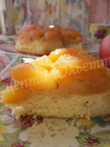 бурштиновий яблучний пиріг