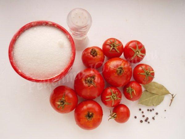 інгредієнти для томатного соку