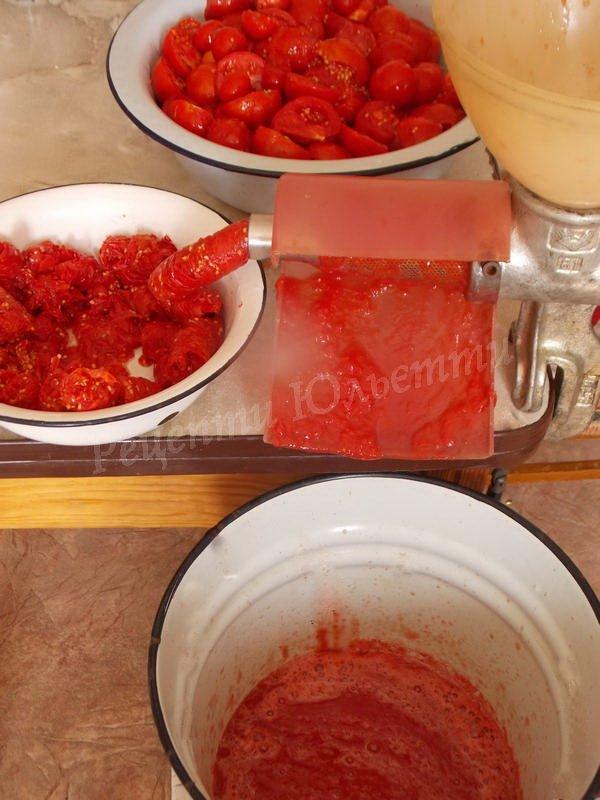 як зробити томатний сік