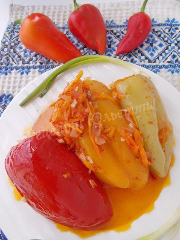 рецепт фаршированого перцю