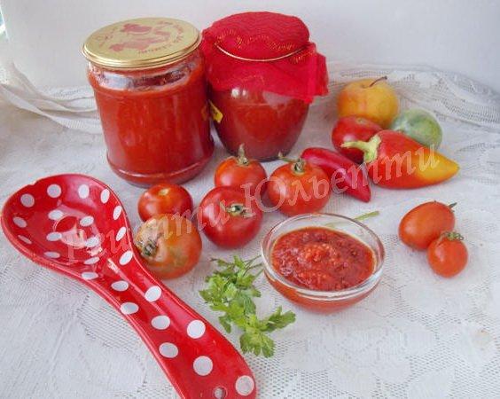 кетчуп домашній