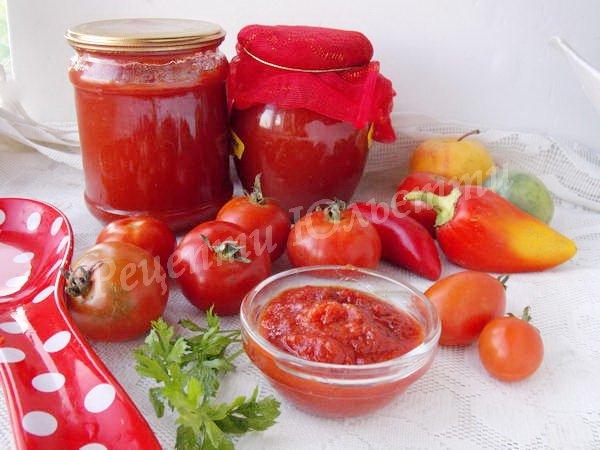 домашній томатний кетчуп