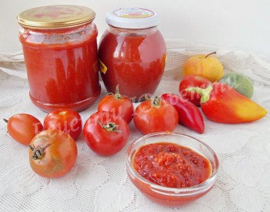 як приготувати кетчуп в домашніх умовах