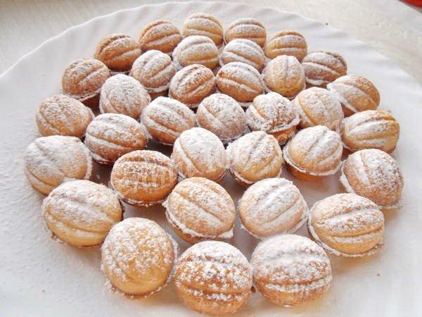 домашнє печиво горішки