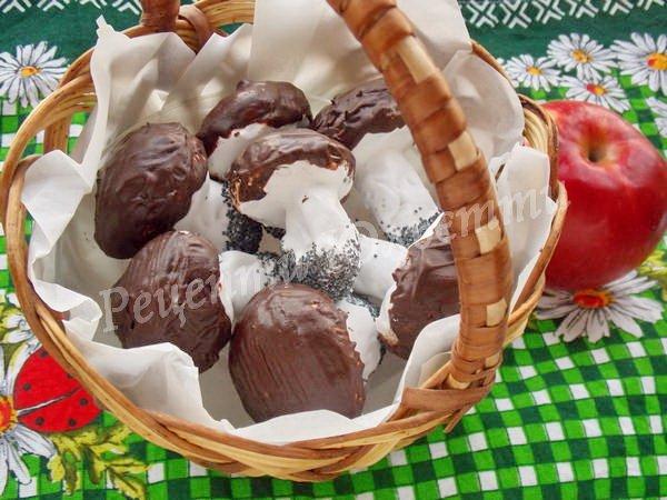 печиво грибочки фото