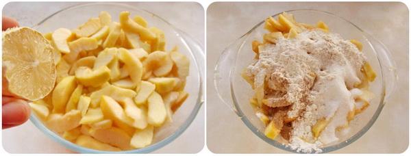 готуємо яблучну начинку