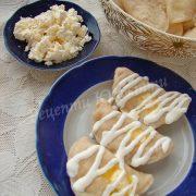 вареники з солодким сиром