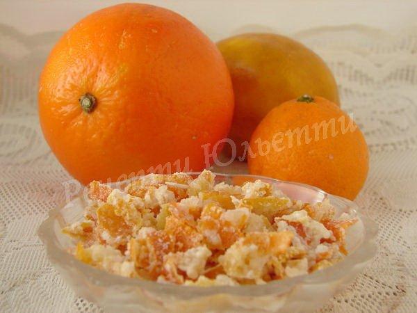 апельсинові цукати