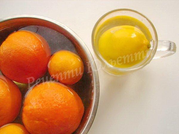 запарюємо та миємо фрукти