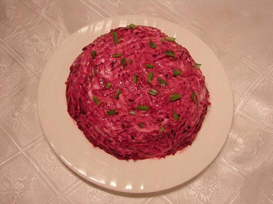 салат під шубою рецепт