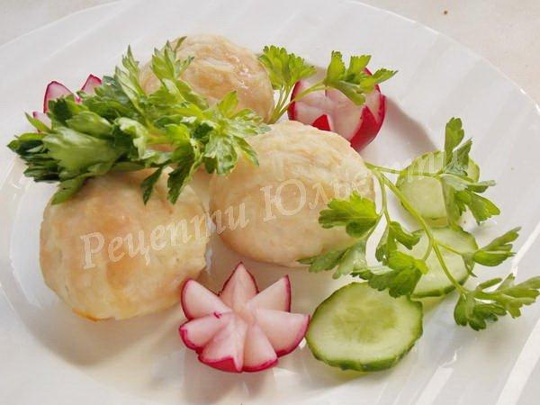 тефтелі з рисом