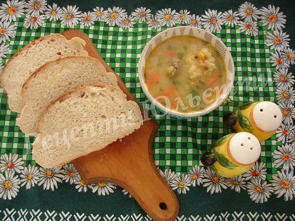 смачний гороховий суп