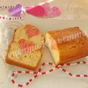 кекс із сердечком для коханих