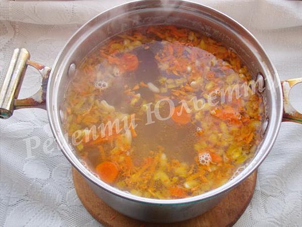 додаємо засмажку до супу