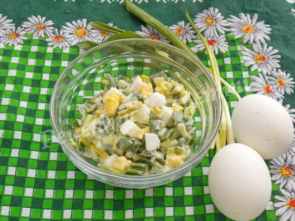 смачний салат з черемші