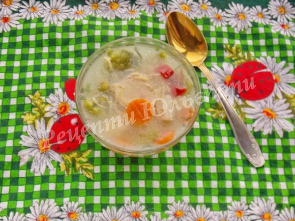 суп із овочами