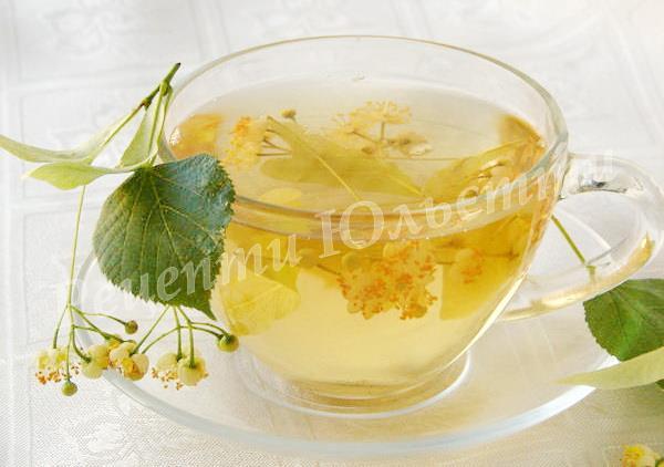 корисний липовий чай