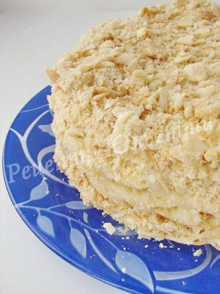 листковий торт наполеон