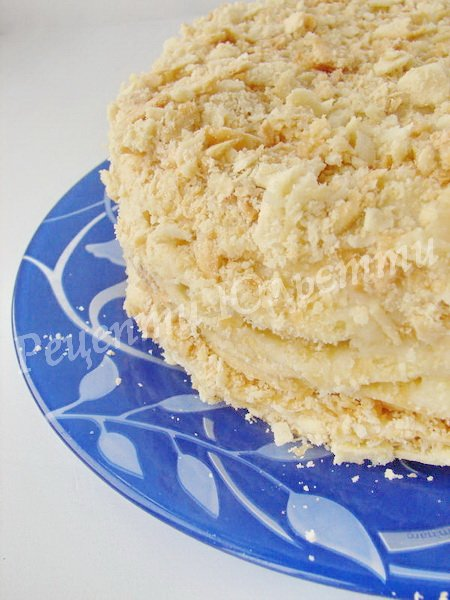 як спекти торт наполеон