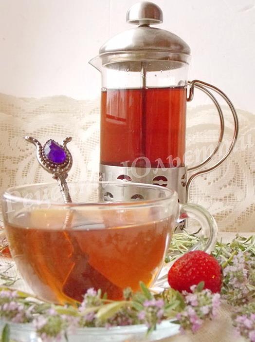 чебрецевий чай
