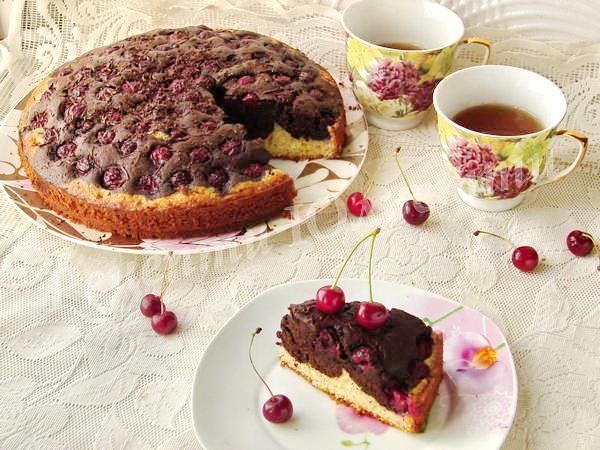 пиріг вишний