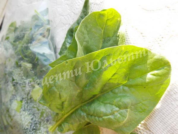шпинат на зиму
