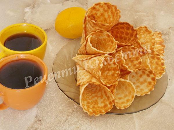 смачні домашні вафлі