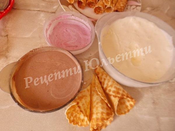 різноманітне морозиво