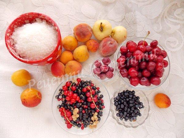 інгредієнти для компоту