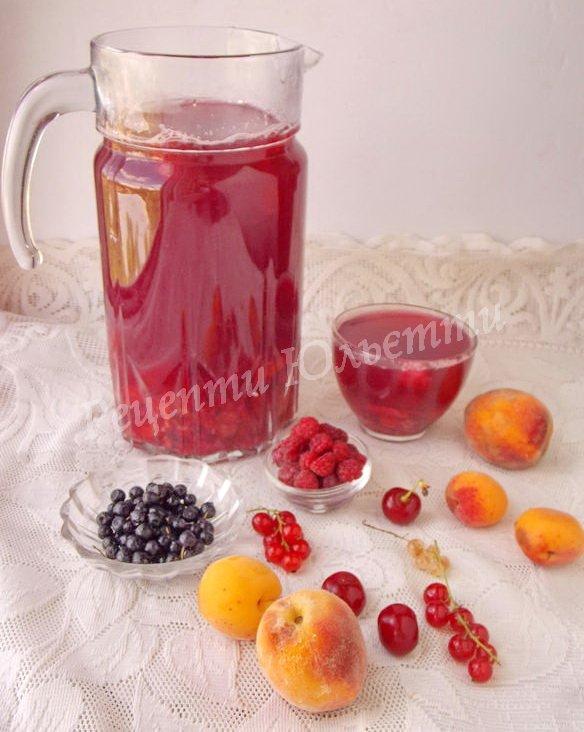 компот ягідно-фруктовий